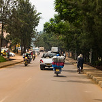 The streets of Kigali.