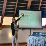 Louise Leakey, granddaughter of Louis and Mary Leakey, describes the Olduvai Gorge and human palentology.
