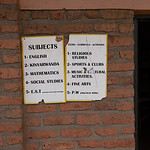 English is taught to all students.  It is one of the official languages of Rwanda.