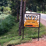 We were able to visit an elementary school in Rwanda.  Mwiko School is run by the Catholic Church.  It is also supported by the Virunga Lodge, where we are staying.