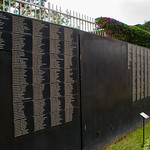 They have a wall of victim's names, but it is far from complete.  Many are unknown.